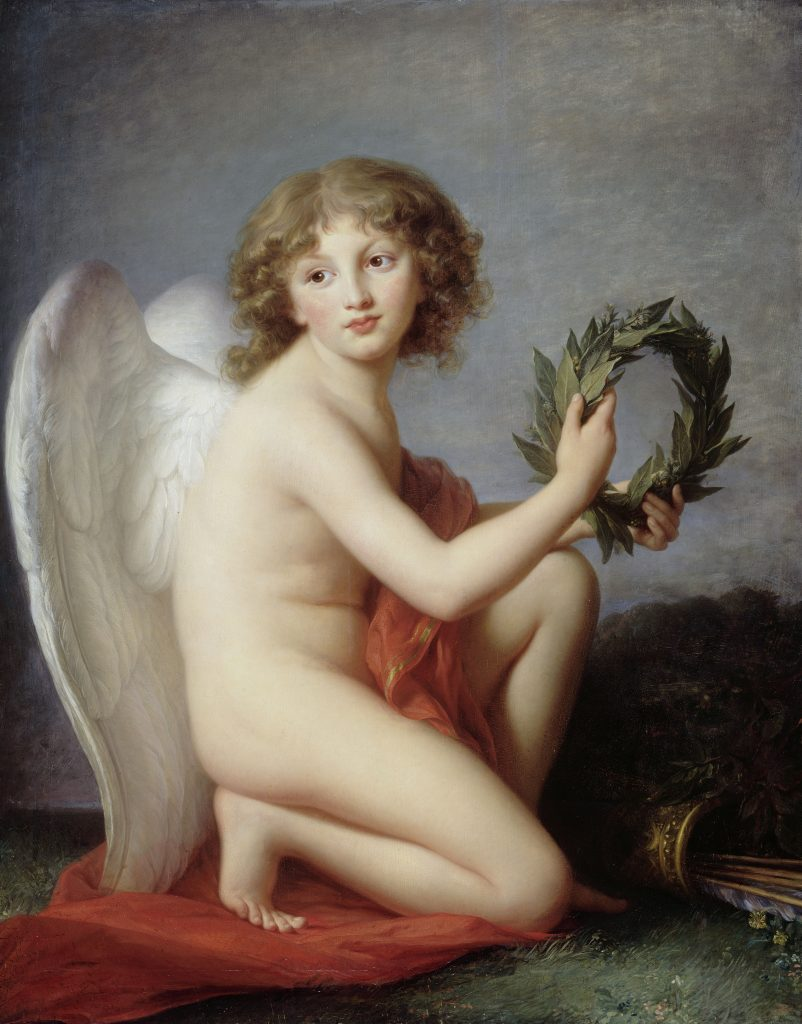 Élisabeth Vigée-Lebrun's Prince Heinrich Lubomirski as the Genius of Fame (1787–88). Acquired in 1874 from the Gallery. Fr. Heim, Paris. Photo: Jörg P. Anders.