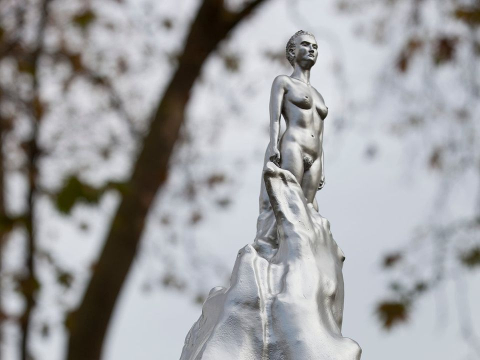 Maggi Hambling, A Sculpture for Mary Wollstonecraft (2020). Photo by Ioana Marinescu.