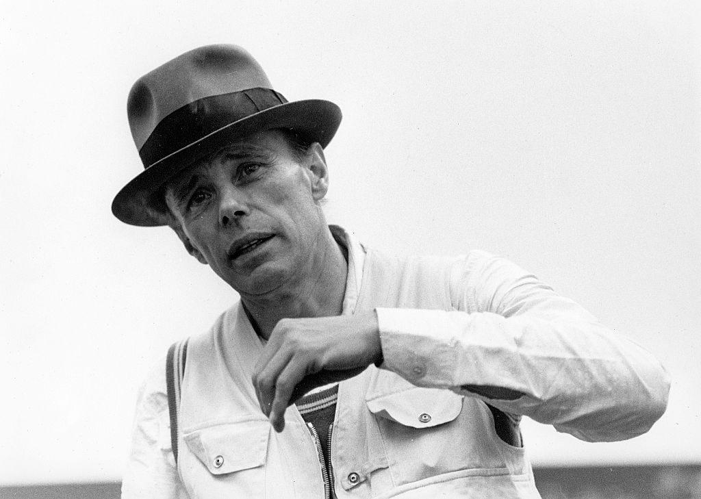 Joseph Beuys Photo: Behr/ullstein bild via Getty Images.
