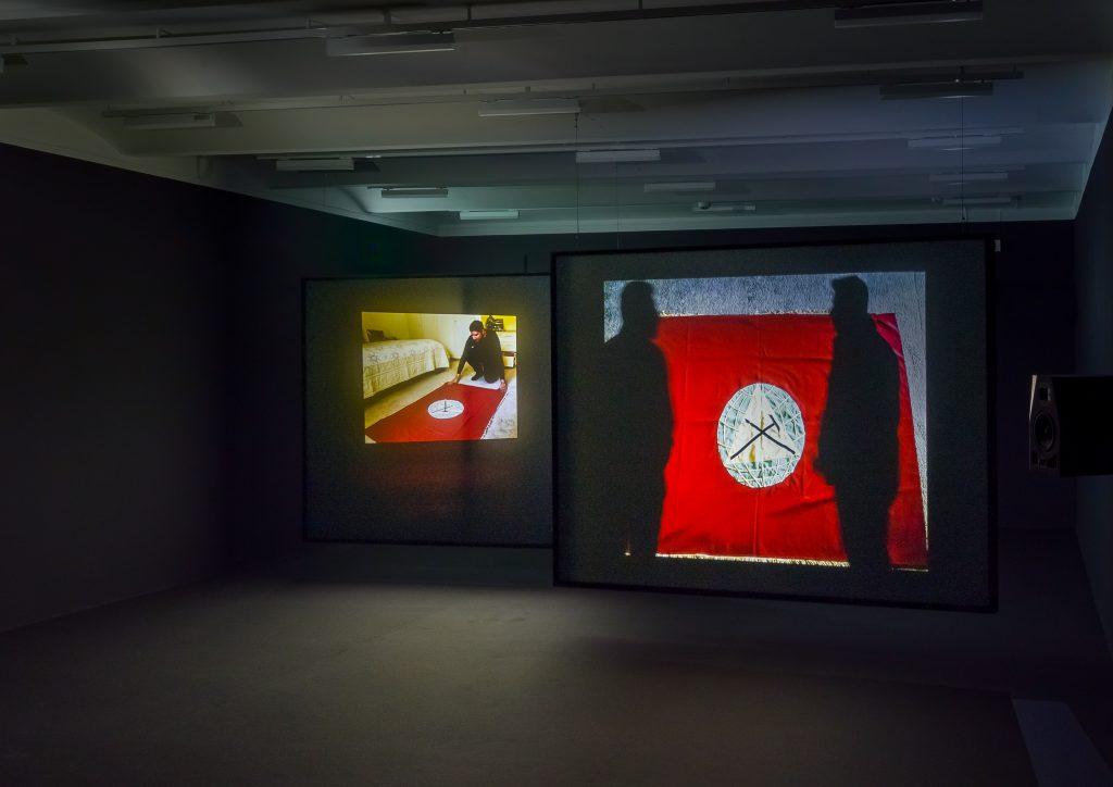 Lawrence Abu Hamdan, <i>Once Removed</i> (2019). Exhibition view Secession 2020, Photo: Iris Ranzinger.