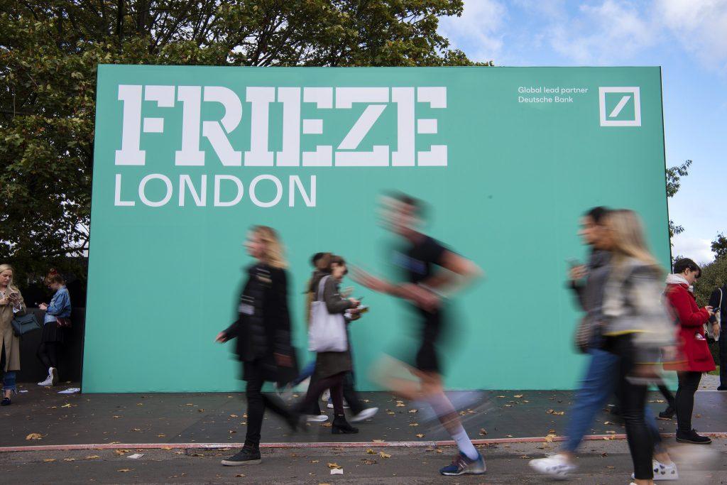 Frieze London 2019. Photo by Linda Nylind. Courtesy of Linda Nylind/Frieze.
