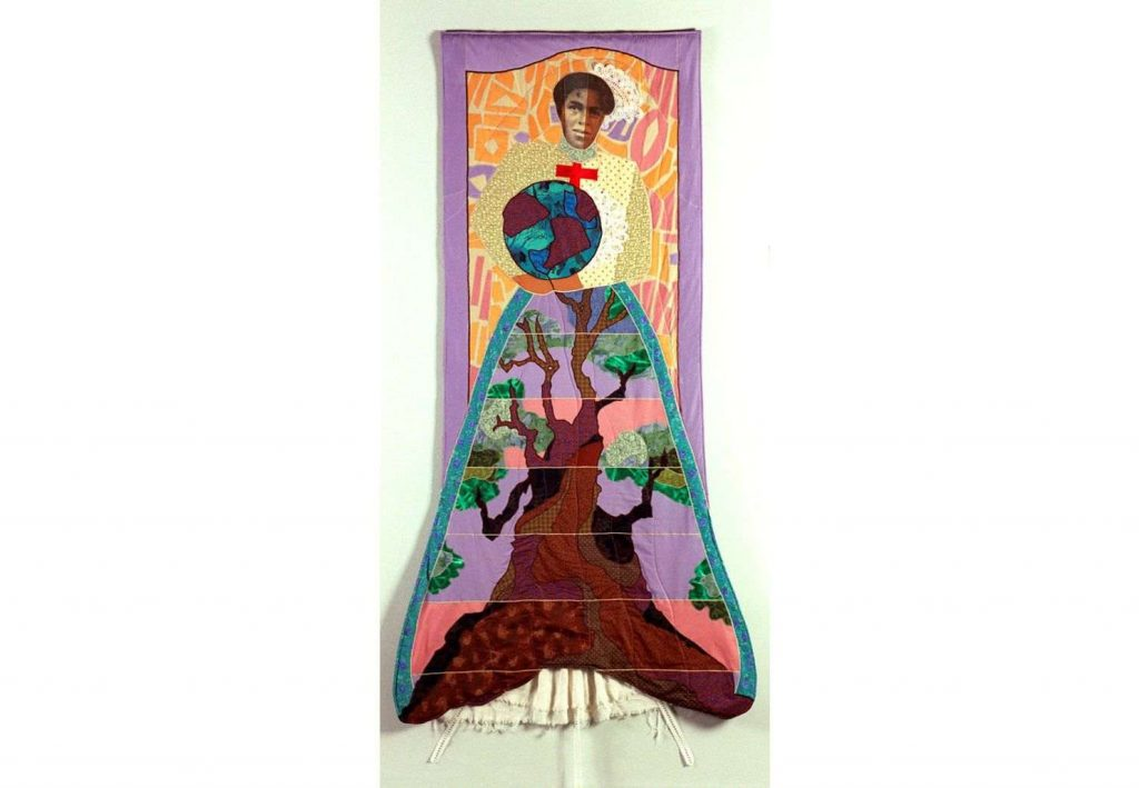 Ellen Blalock, Mary (from the series The Family Album: The Quilt Series), (2000). Courtesy of the Everson Museum of Art.
