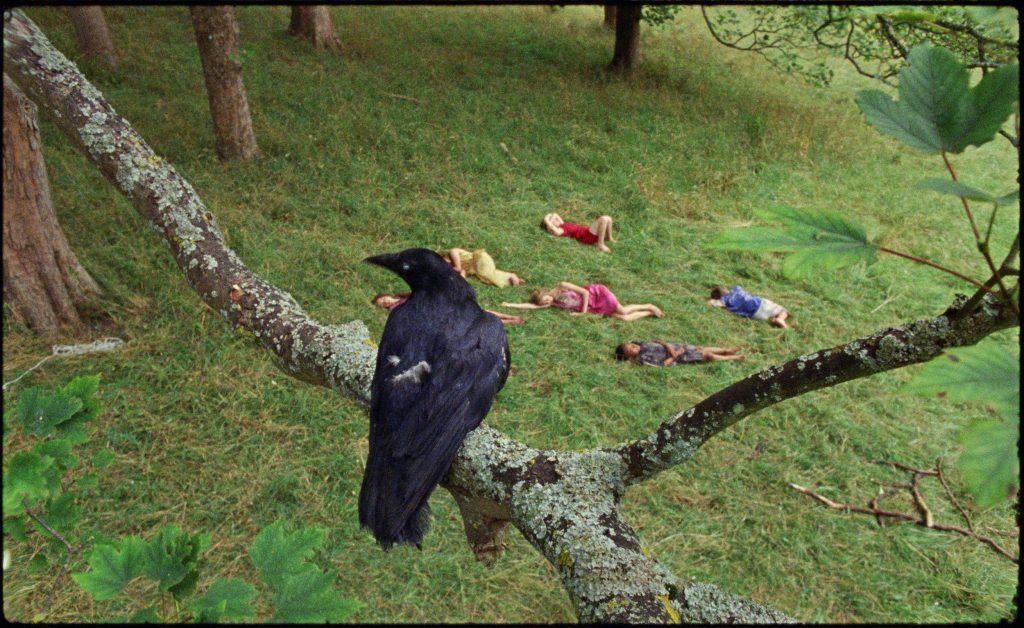 Marianna Simnett The Bird Game (film still) (2019). Courtesy the artist, FVU, the Rothschild Foundation and the Frans Hals Museum.