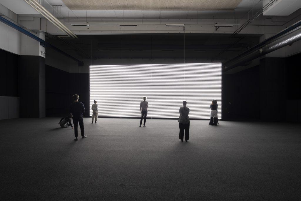 Marianna Simnett Faint with Light (2016). Installation view at Copenhagen Contemporary, Copenhagen, 2019. Courtesy the artist. Photo: Anders Sune Berg.