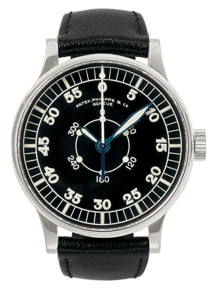 A Patek Phillippe vintage pilot's watch. Photo courtesy Patek Phillippe.