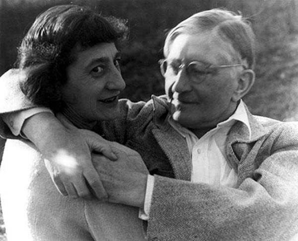 Josef and Anni Albers at Black Mountain College in 1949.Photo: Theodore Dreier via Josef & Anni Albers Foundation