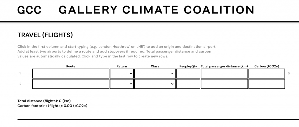 Screenshot from the GCC's website.