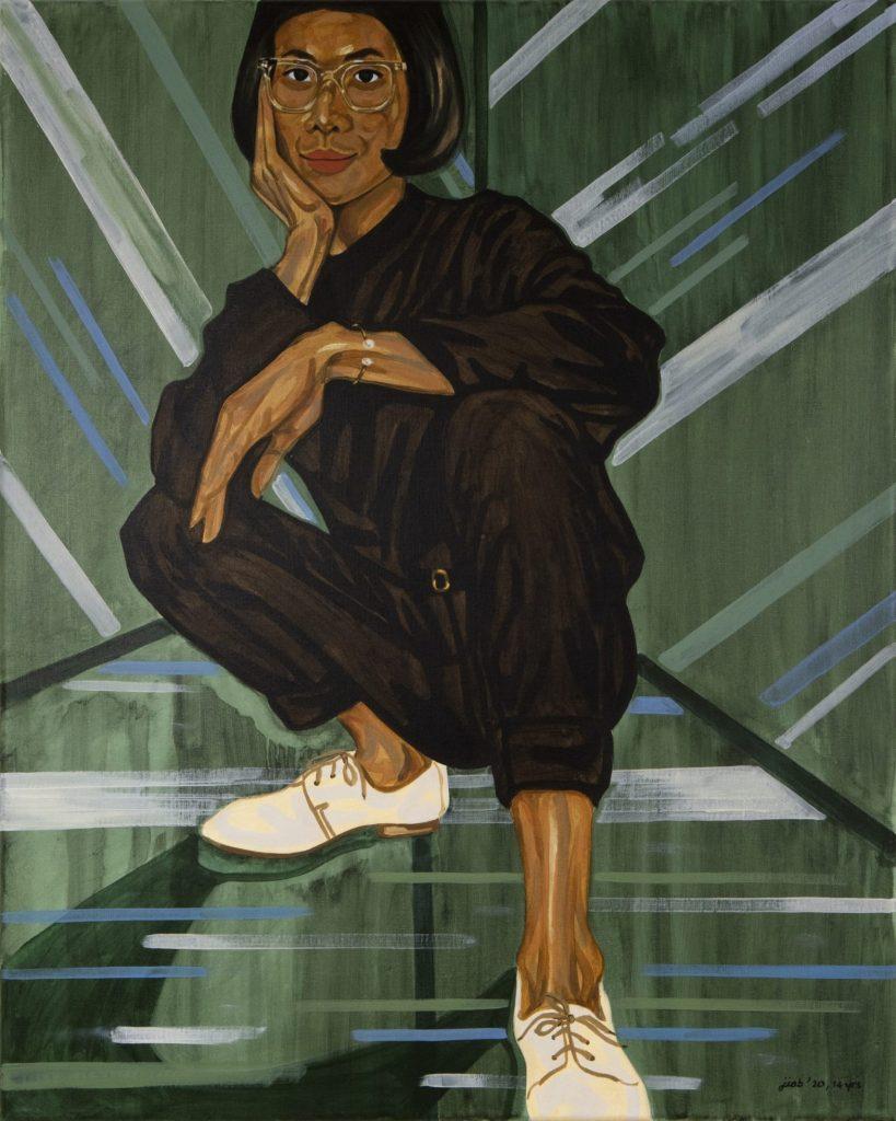Jiab Prachakul, <em>14 Years (Self-portrait)</eM>, 2020. Courtesy of Friends Indeed Gallery, San Francisco.