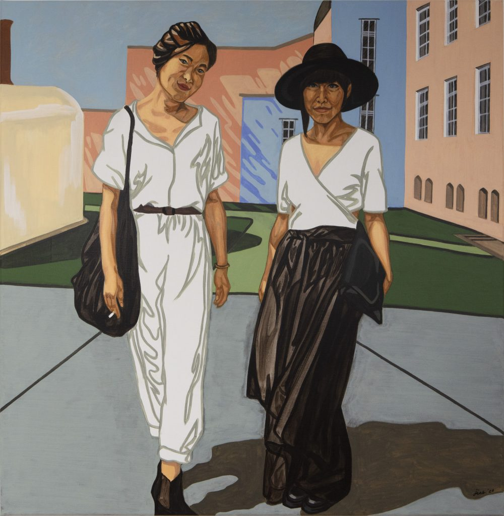 Jiab Prachakul, <em>An Opening</eM> (2020). Courtesy of Friends Indeed Gallery, San Francisco.