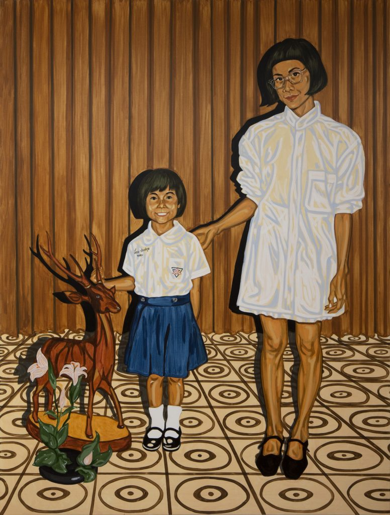 Jiab Prachakul, <em> Connecting </eM> (2020). Courtesy of Friends Indeed Gallery, San Francisco.