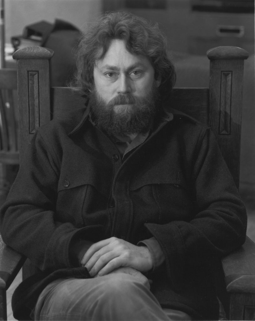 Donald Judd in 1970. Photo Paul Katz, courtesy Judd-Hume Prize.