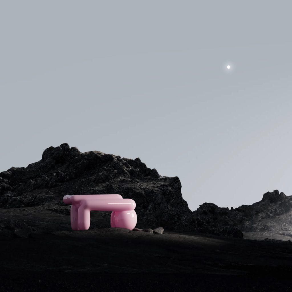 Andrés Reisinger, <i>Pink Table</i>. Courtesy of the artist.