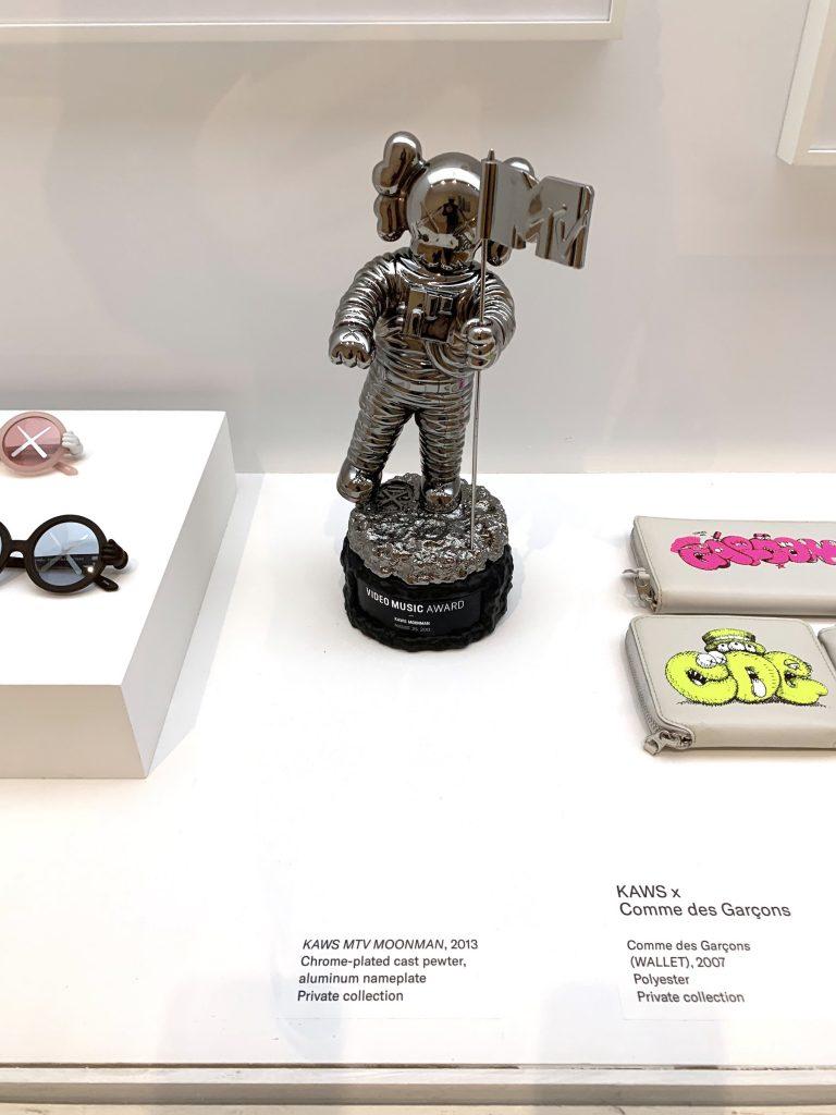"KAWS-designed MTV ""Moonman"" trophy. (Photo by Ben Davis)"