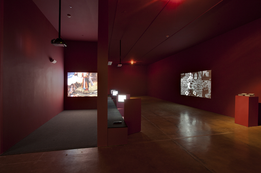 """Installation view of """"The Dissolve,"""" the 2010 SITE Santa Fe Biennial, co-curated by Sarah Elizabeth Lewis and Daniel Belasco. (Photo courtesy SITE Santa Fe.)"""