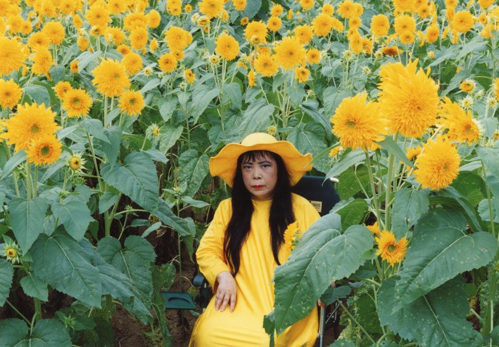 Yayoi Kusama, Flower Obsession (Sunflower), 2000. Courtesy of the artist.