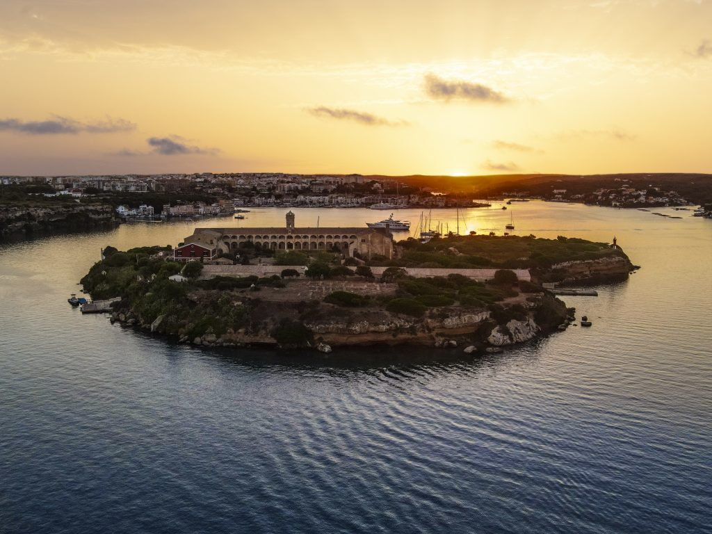 Hauser & Wirth Menorca on Isla del Rey. Courtesy Hauser & Wirth. Photo: Be Creative, Menorca.