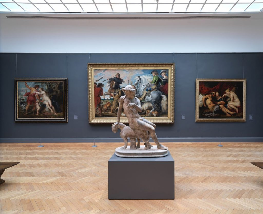 "Installation view of ""A New Look at Old Masters"" at the Metropolitan Museum of Art. Photo courtesy of the Metropolitan Museum of Art."