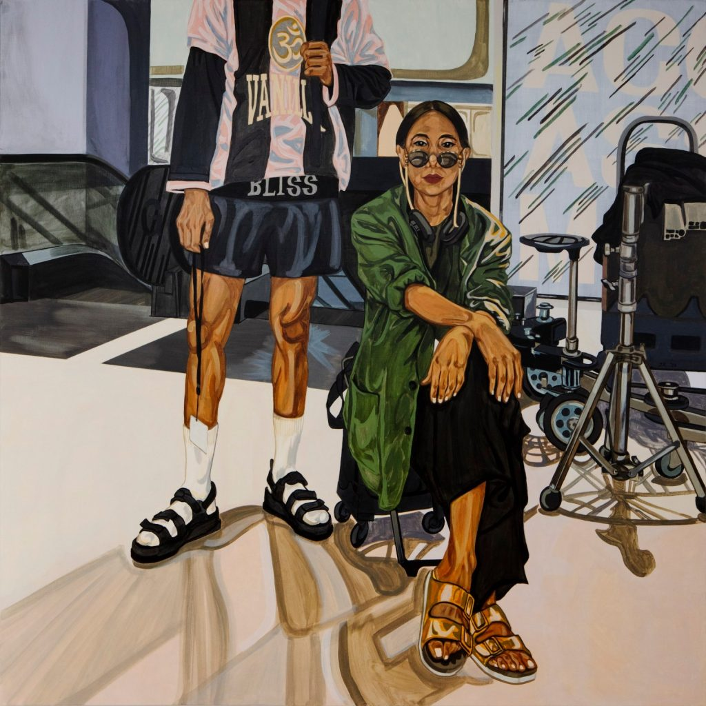 Jiab Prachakul, <em>Stand-by</eM> (2020). Courtesy of Friends Indeed Gallery, San Francisco.