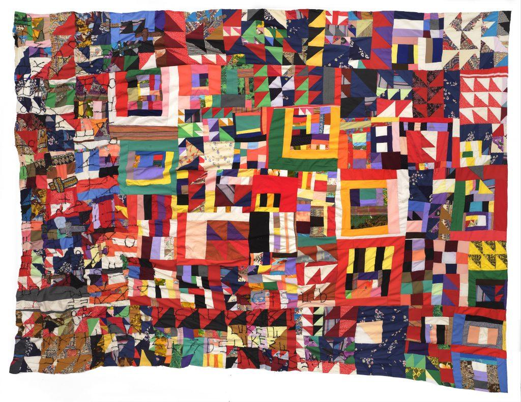Rosie Lee Tompkins, <i>Untitled</i> (c. 2002). Courtesy of BAMPFA.