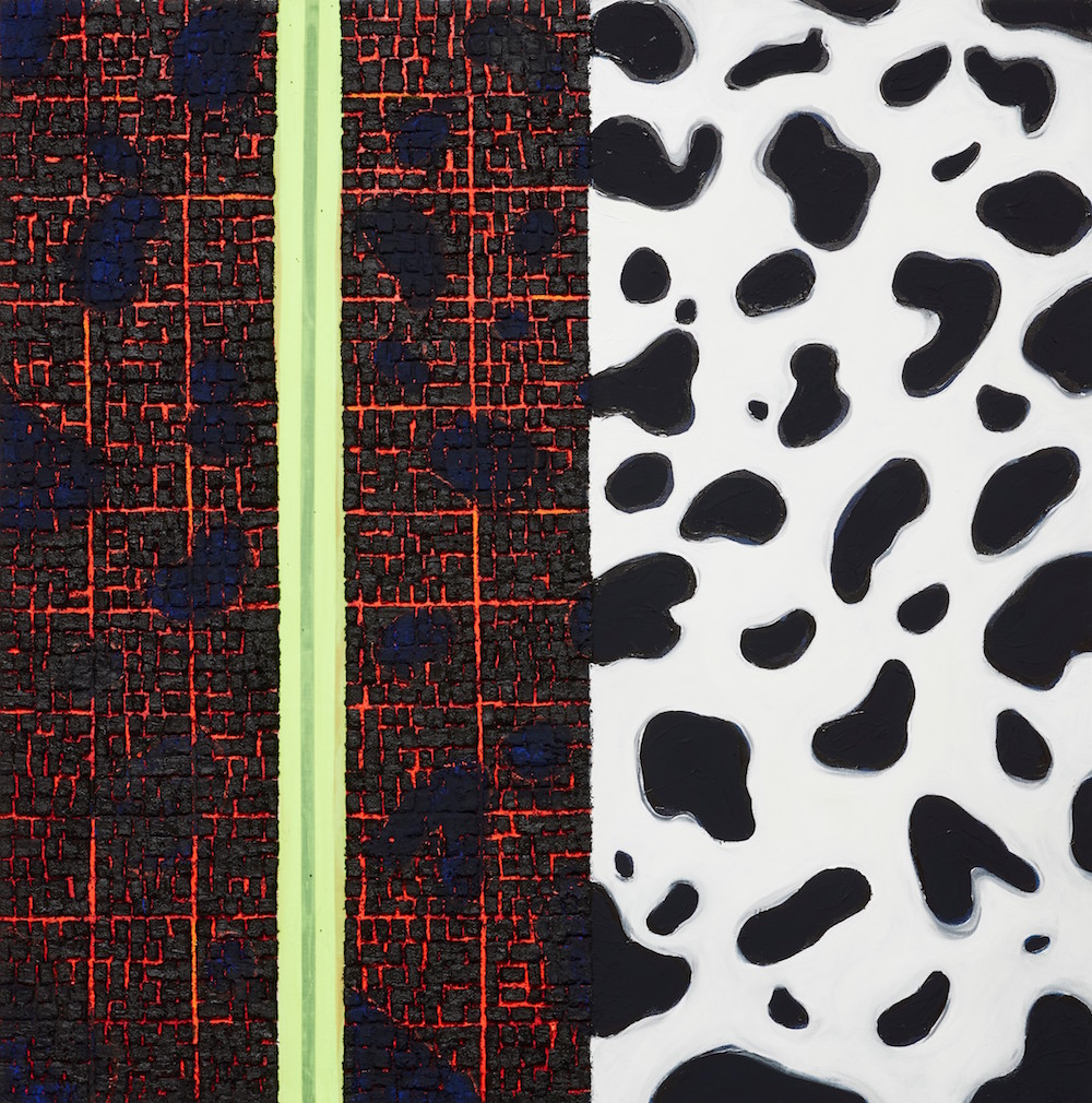 Vaughn Spann, <i>Dalmation No. 3</i> (2018). Image courtesy Phillips.
