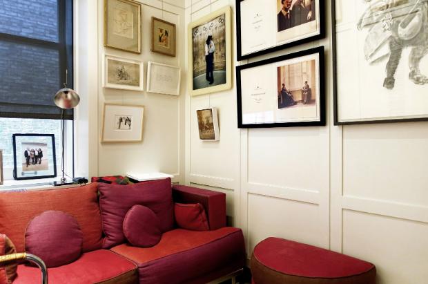 Rachel Lehmann's home office in New York. Courtesy Lehmann Maupin, New York, Hong Kong, Seoul, and London.