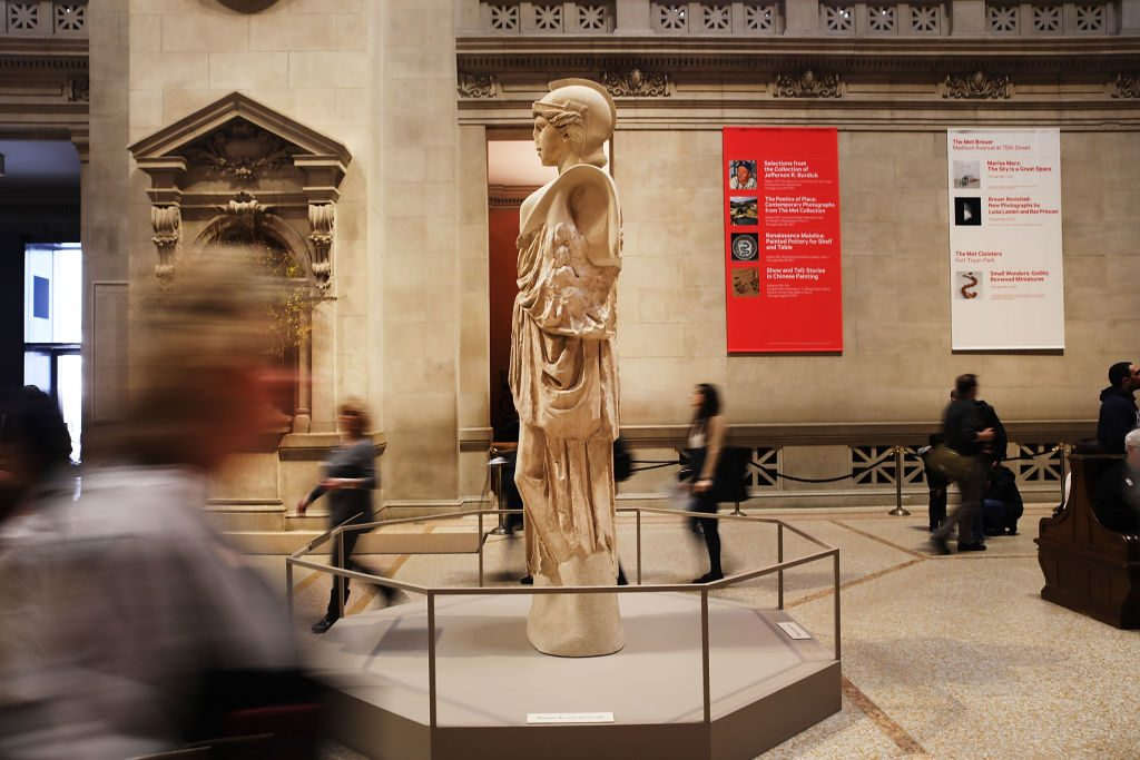 The Metropolitan Museum of Art in New York. Photo by Spencer Platt/Getty Images.