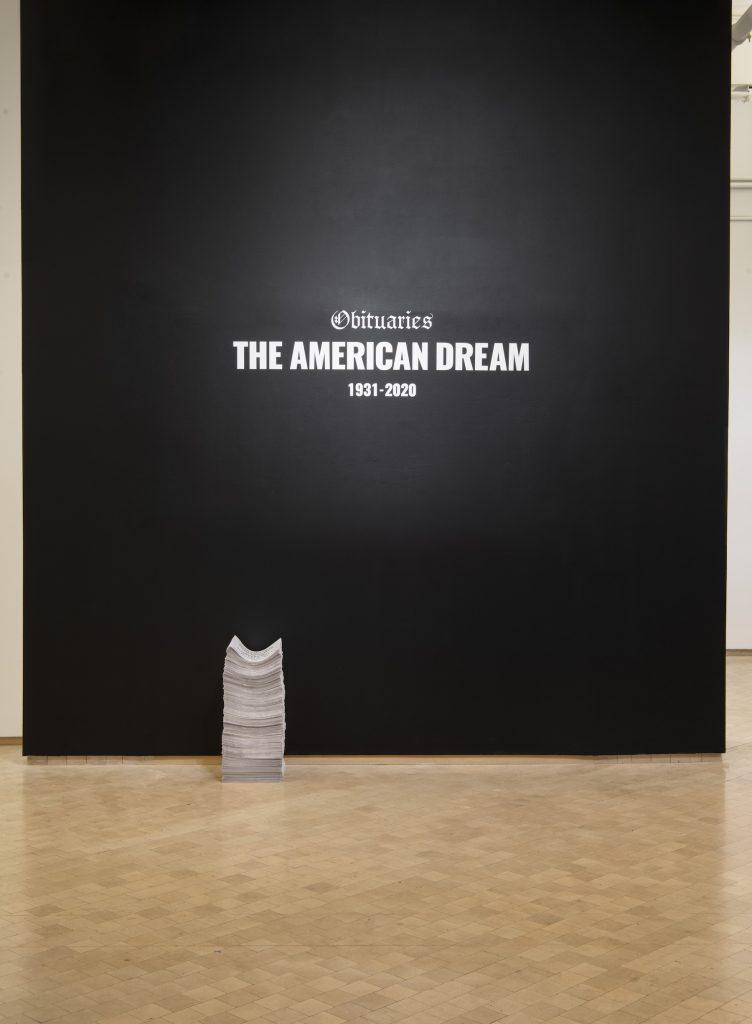 Lizania Cruz, Obituaries of the American Dream (2020- 21). Courtesy the artist