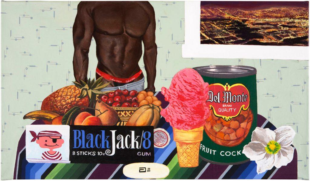 Joey Terrill, <em> Black Jack 8</em> (2008). Courtesy the artist.