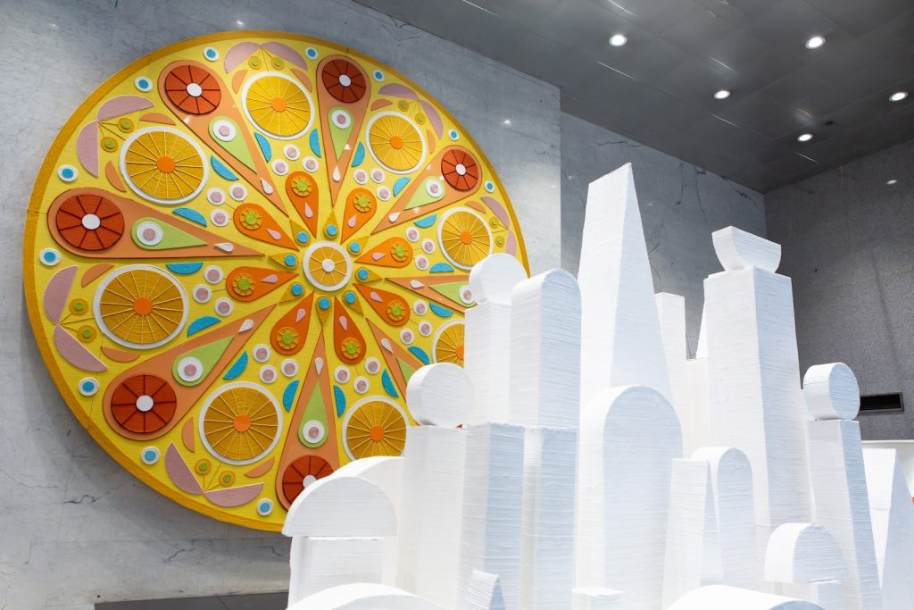 Chris Bogia, The Sun, The City, 2021. Courtesy the artist and Mrs. Photo by Marcie Revens.