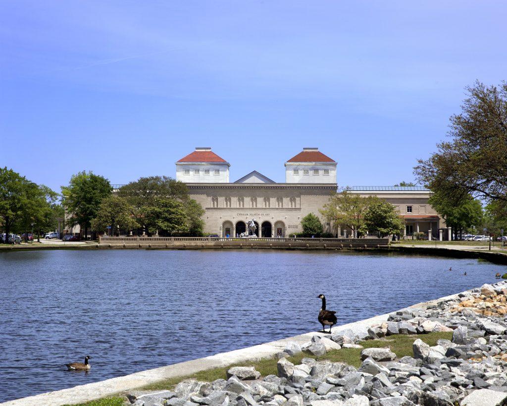 The Chrysler Museum of Art in Norfolk, Virginia. Photo: Ed Pollard. Courtesy of the Chrysler Museum of Art.