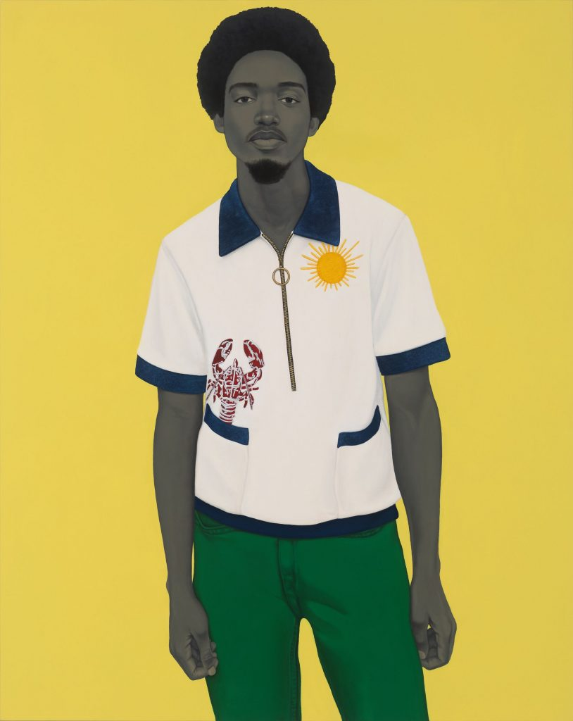 Amy Sherald, <i>A bucket full of treasures (Papa gave me sunshine to put in my pockets...)</i> (2020). © Amy Sherald. Courtesy the artist and Hauser & Wirth. Photo: Joseph Hyde.