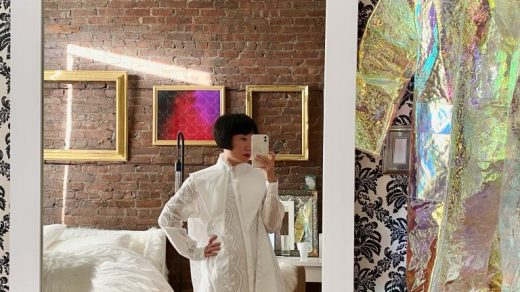 Jia Jia Fei in her New York apartment. Courtesy of Jia Jia Fei.
