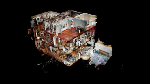 Dollhouse at Musée Grobet-Labadié Virtual Tour © Courtesy of Manifesta 13