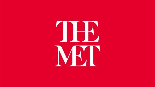 The logo of the Metropolitan Museum of Art in New York, designed by Wolff Olins and unveiled in 2016. Courtesy of the Metropolitan Museum of Art.