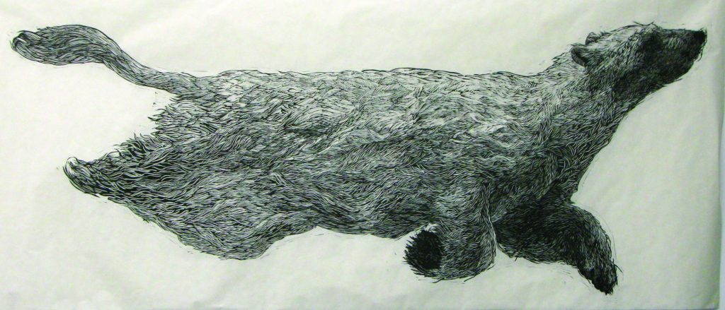 Aliene de Souza Howell, <em>Polar Bear</em>. Courtesy of the New York Academy of Art.