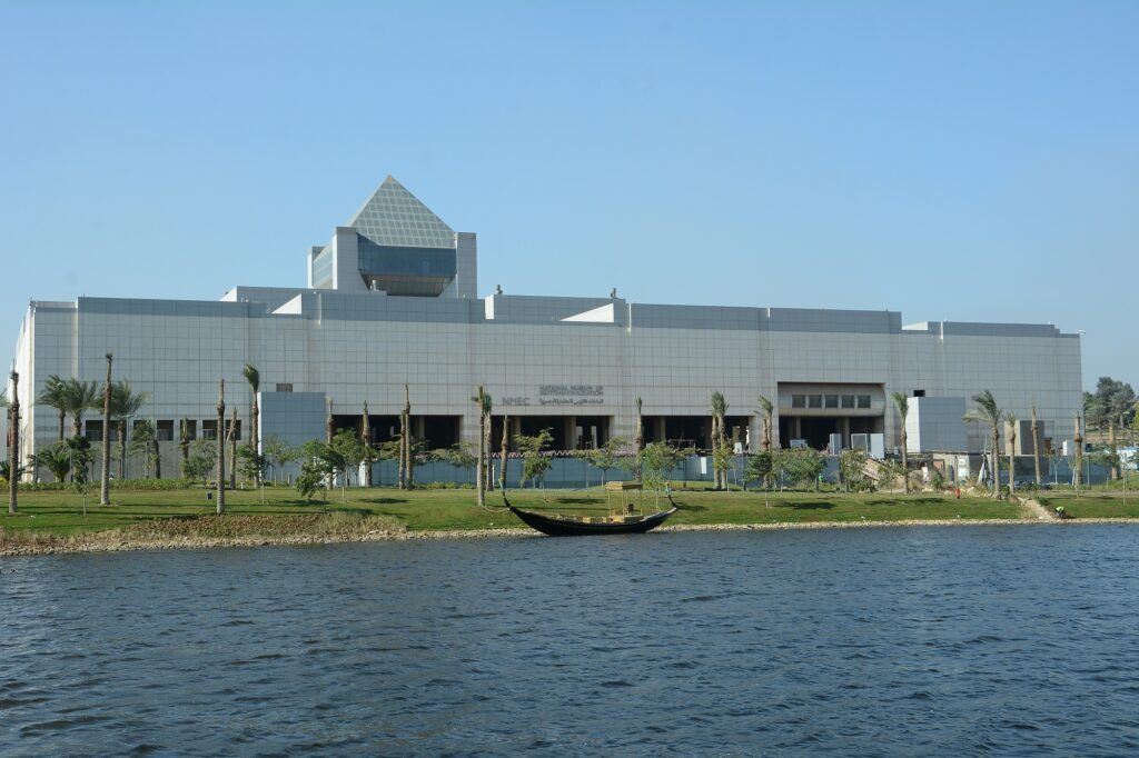The National Museum of Egyptian Civilization in Cairo. Photo courtesy of the National Museum of Egyptian Civilization, Cairo.