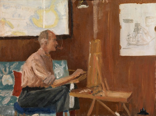 Prince Philip, Duke of Edinburgh, Portrait of the Artist (1956-57). Courtesy of the Royal Collection Trust.