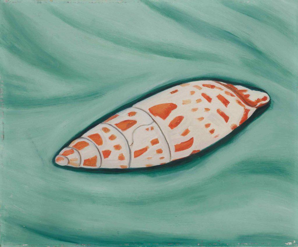 Marsden Hartley, <i>Shell</i>, from the Newark Museum of Art. Courtesy of Sotheby's.