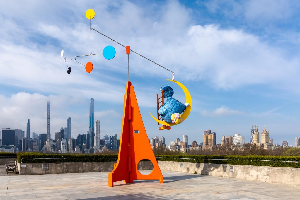 Alex Da Corte, As Long as the Sun Lasts for the 2021 Roof Garden Commission at the Metropolitan Museum of Art, installation view. Photo by Anna-Marie Kellen, courtesy of the Metropolitan Museum of Art.