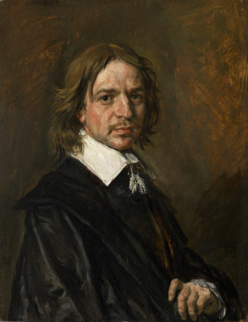 Frans Hals, Portrait of a Man, one of a series of Old Master works sold by a French dealer that authorities now believe may be forgeries. Courtesy of Sotheby's.