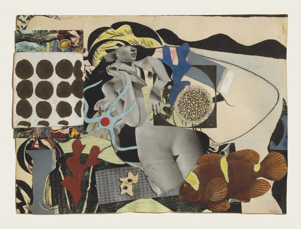 Eileen Agar, <i>Erotic Landscape</i> (1942). © The Estate of Eileen Agar. Photograph courtesy Pallant House Gallery, Chichester. © Doug Atfield.