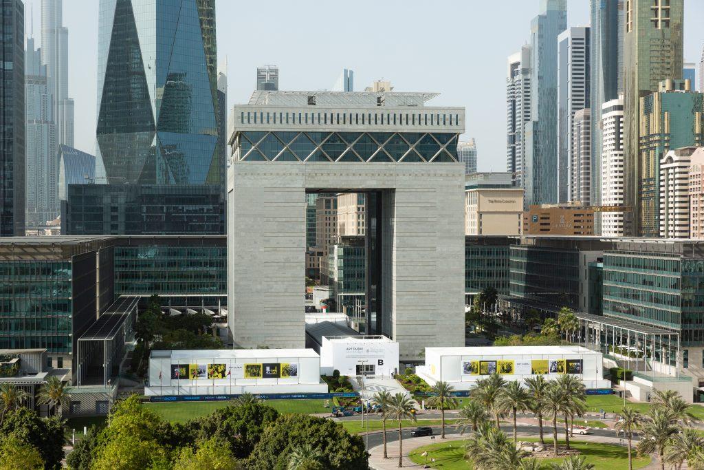 Opening Day at Art Dubai 2021. Courtesy of Art Dubai.