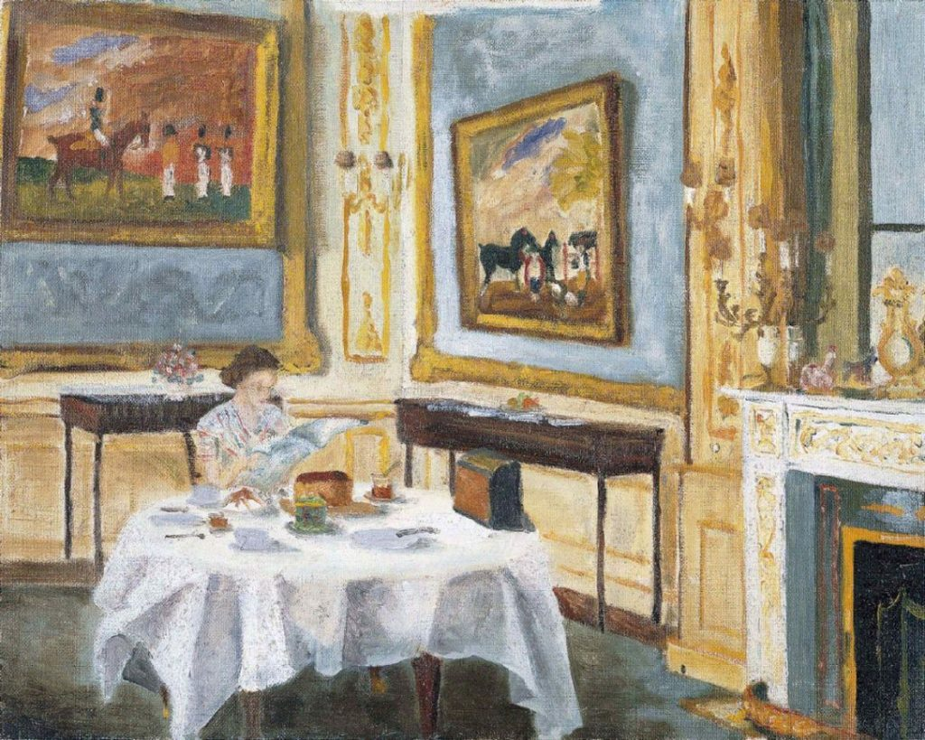 Prince Philip, Duke of Edinburgh, The Queen at Breakfast (1965). Courtesy of the Royal Collection Trust.