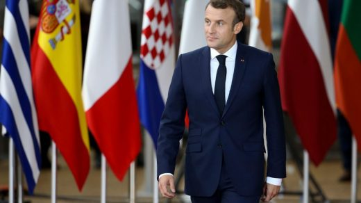 President of France Emmanuel Macron. Photo: Jean Catuffe/Getty Images.
