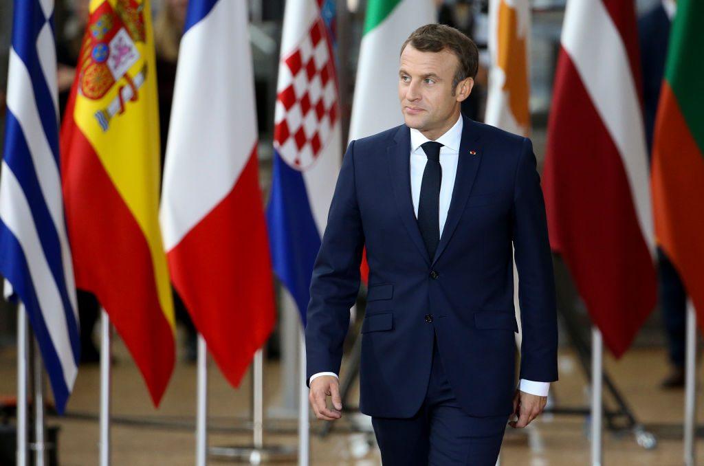 President of France Emmanuel Macron. Photo: Jean Catuffe/Getty Images.