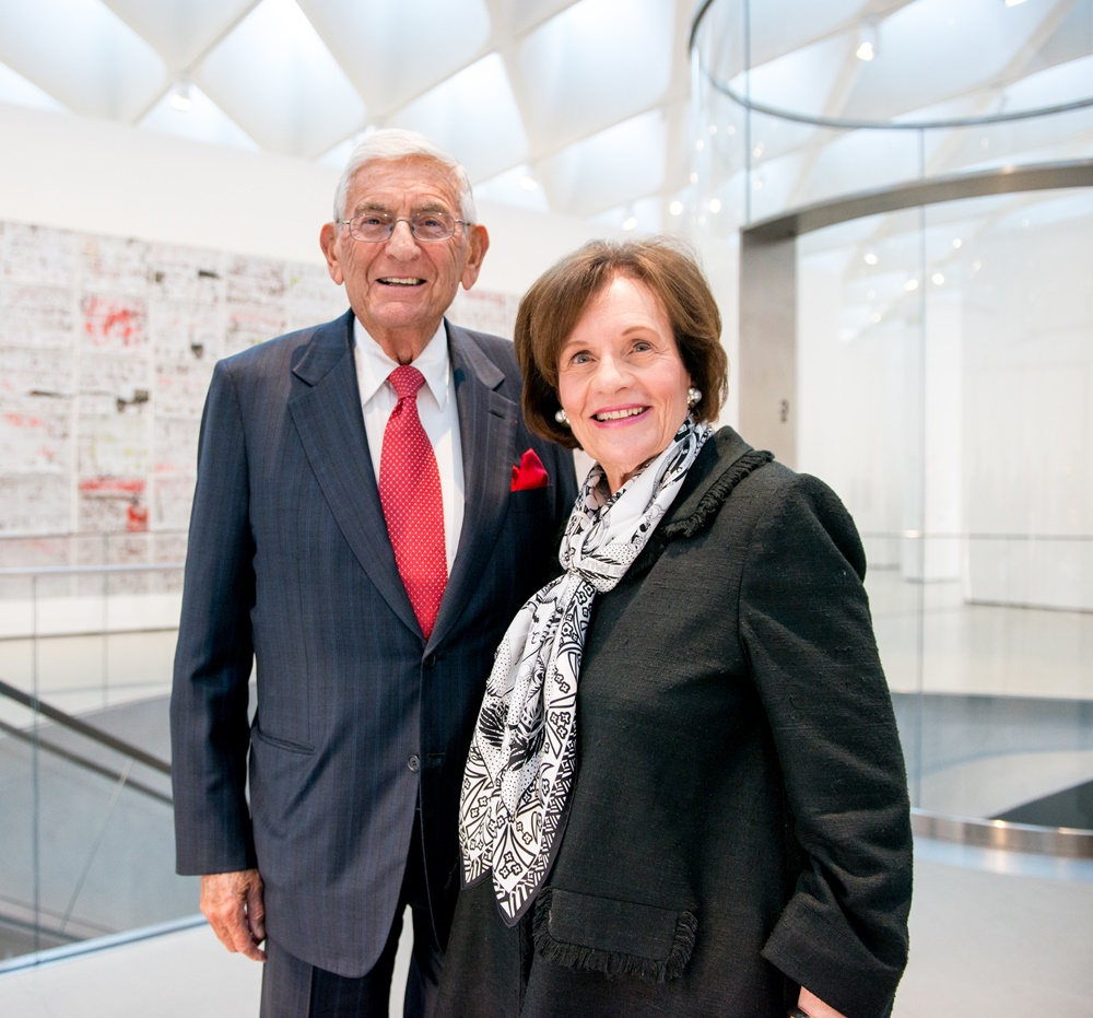 Eli and Edythe Broad. Photo Ben Gibbs for the Eli and Edythe Broad Foundation.