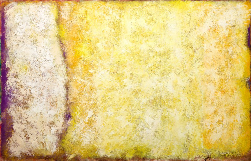 Jean Albert Mcewen, Midi, Temps Jaune (1960). Courtesy of BYDealers Auction House.