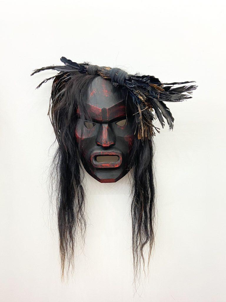Beau Dick, Bookwus (2014). Courtesy of Fazakas Gallery.