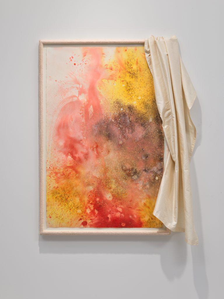 David Hammons, <i>Untitled (Kool-Aid) </i> (2006). ©️ David Hammons / Courtesy Nahmad Contemporary.