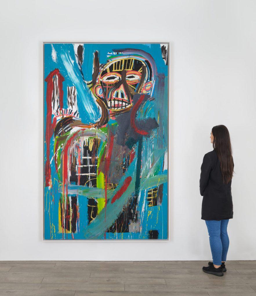 Jean-Michel Basquiat, Untitled (1982). © The Estate of Jean-Michel Basquiat, courtesy of Lévy Gorvy.